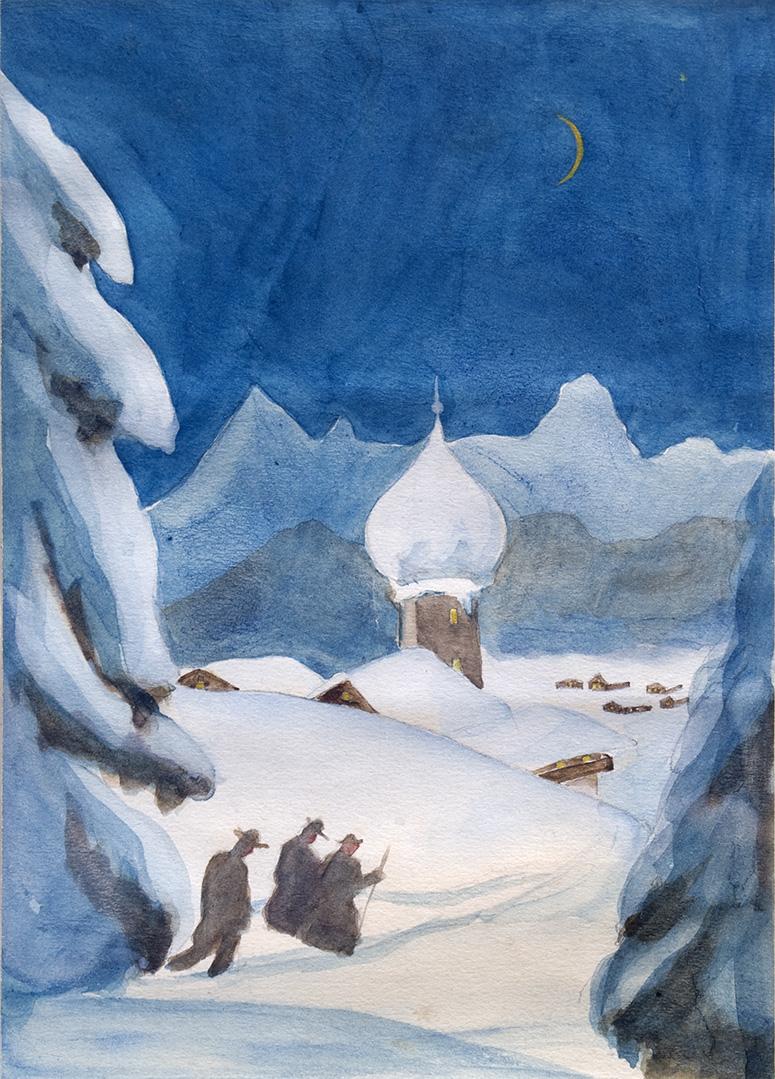 Johann Keller, Die heilige Nacht, 1936