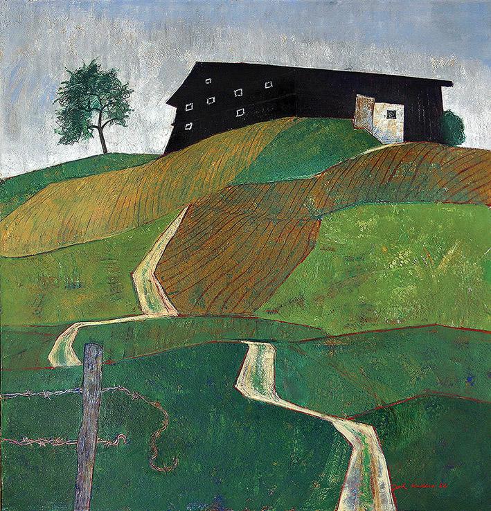 Johann Keller, Die Buckelwiese, 1986