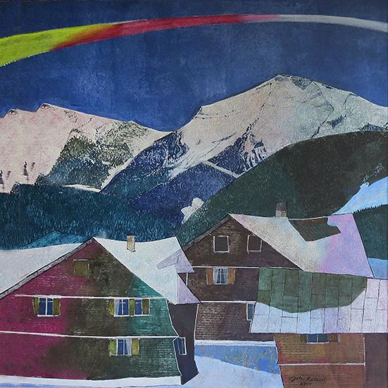 Johann Keller, Hochgrat - Impression, 2001