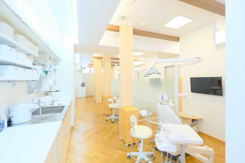 診療室・準備コーナー・消毒コーナー