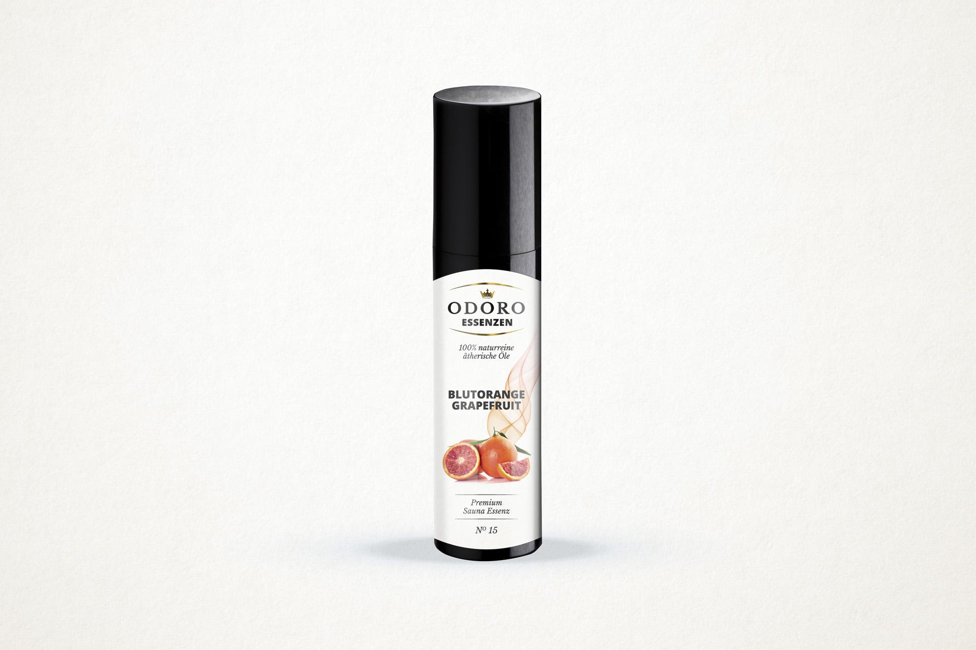 Saunaaufguss Blutorange Grapefruit