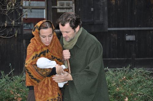 Maria (Sylvia Rohr) und Josef (Johannes Konrad) 2014
