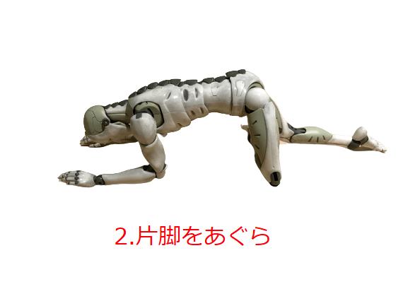 股関節後方インピンジメントストレッチ2