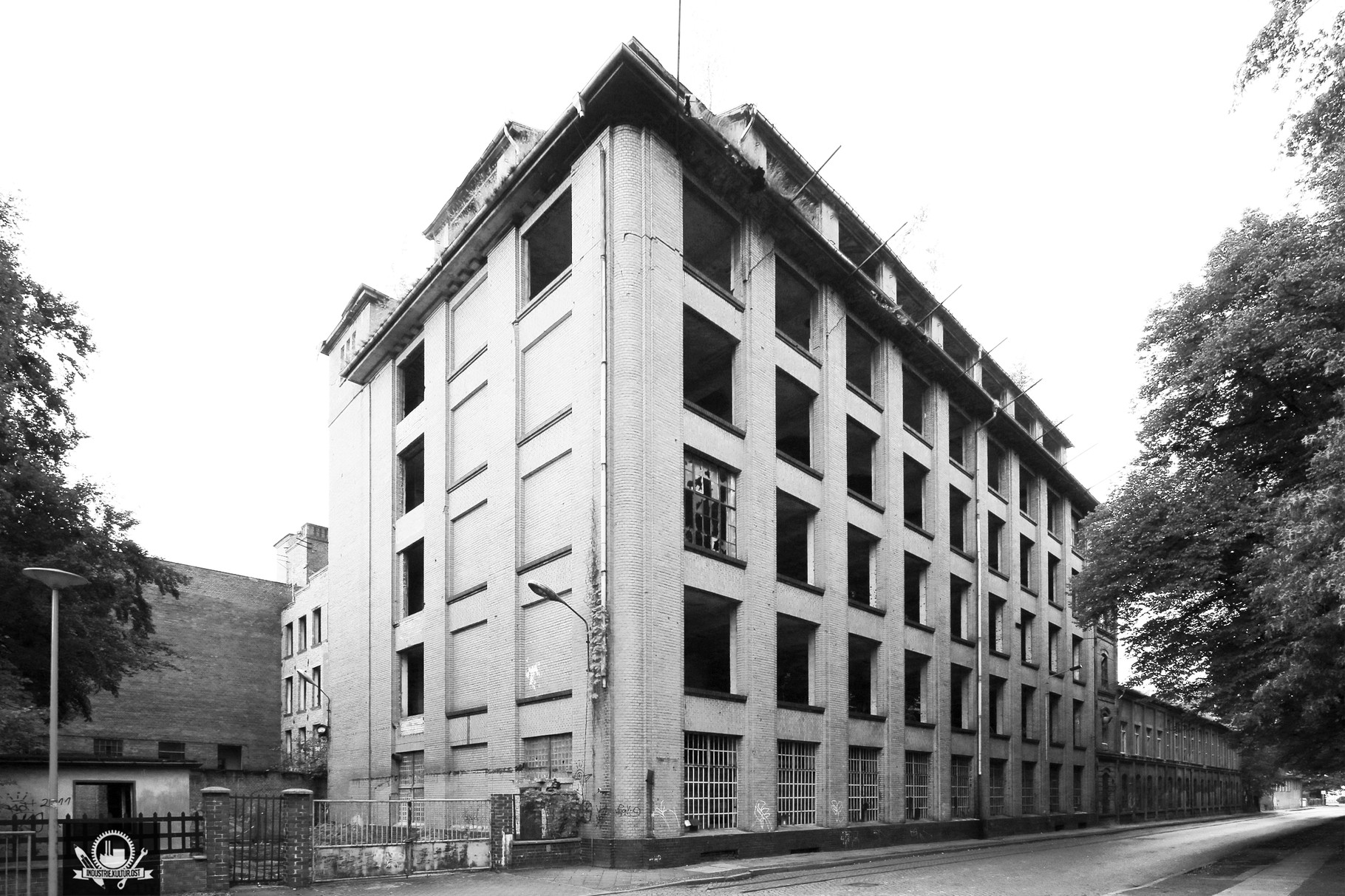 Tuchfabrik Noak&Bergami Forst / Baujahr ca. 1910