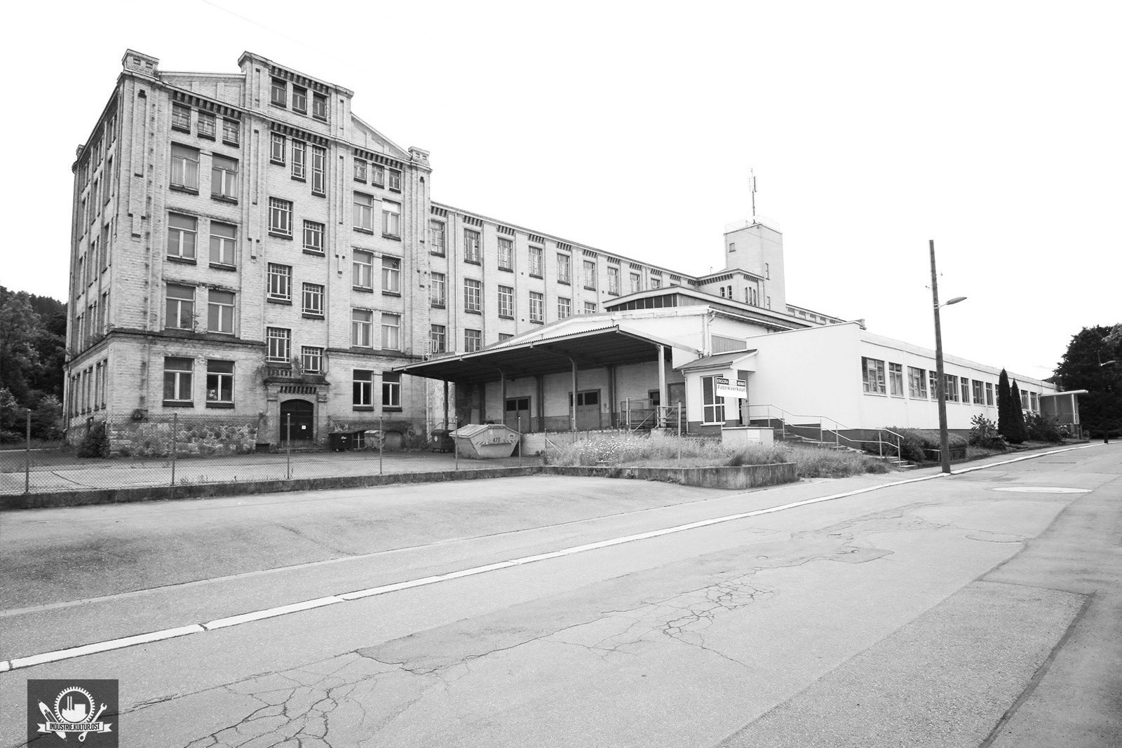 Strumpffabrik Görner Jr. Thalheim / Baujahr 1905