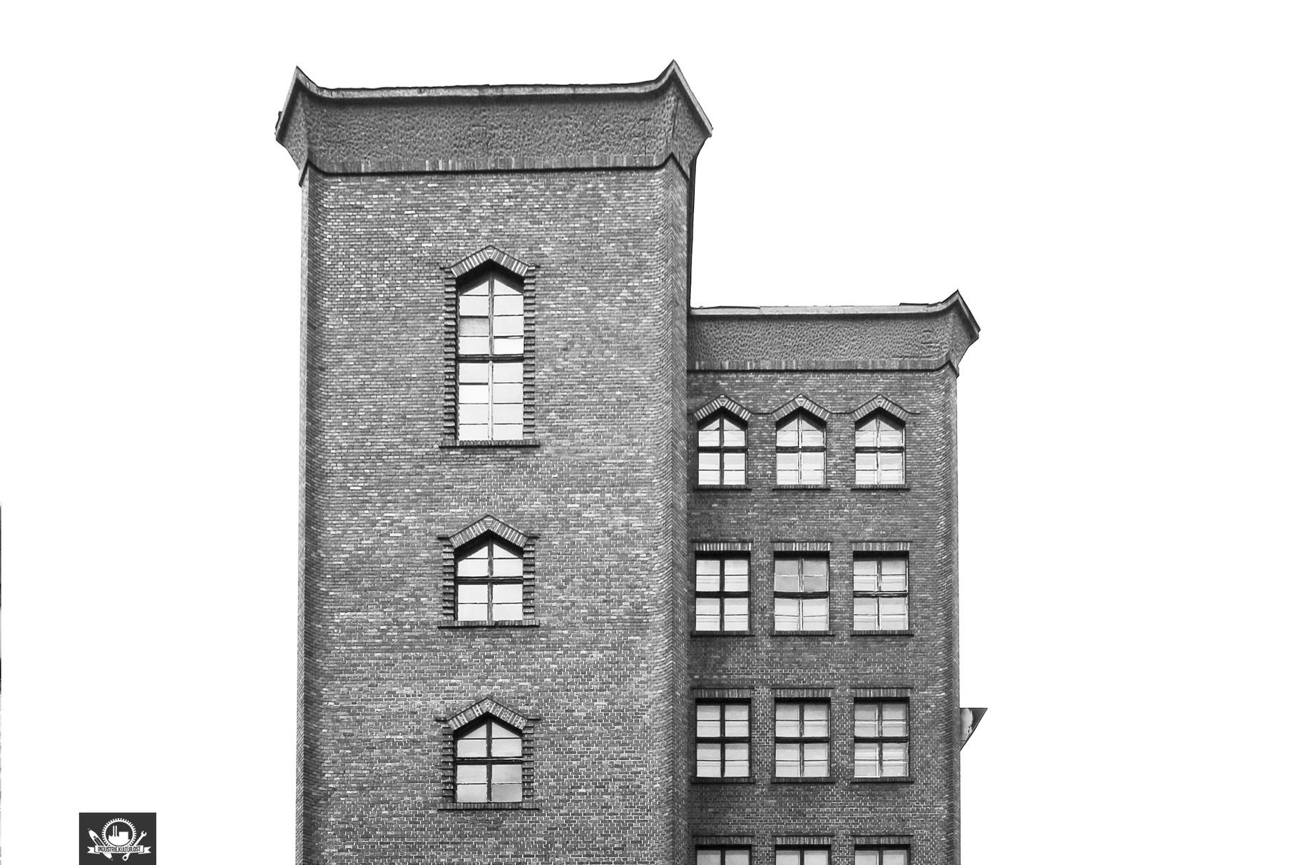 Fassade der Strumpffabrik F.Tauscher
