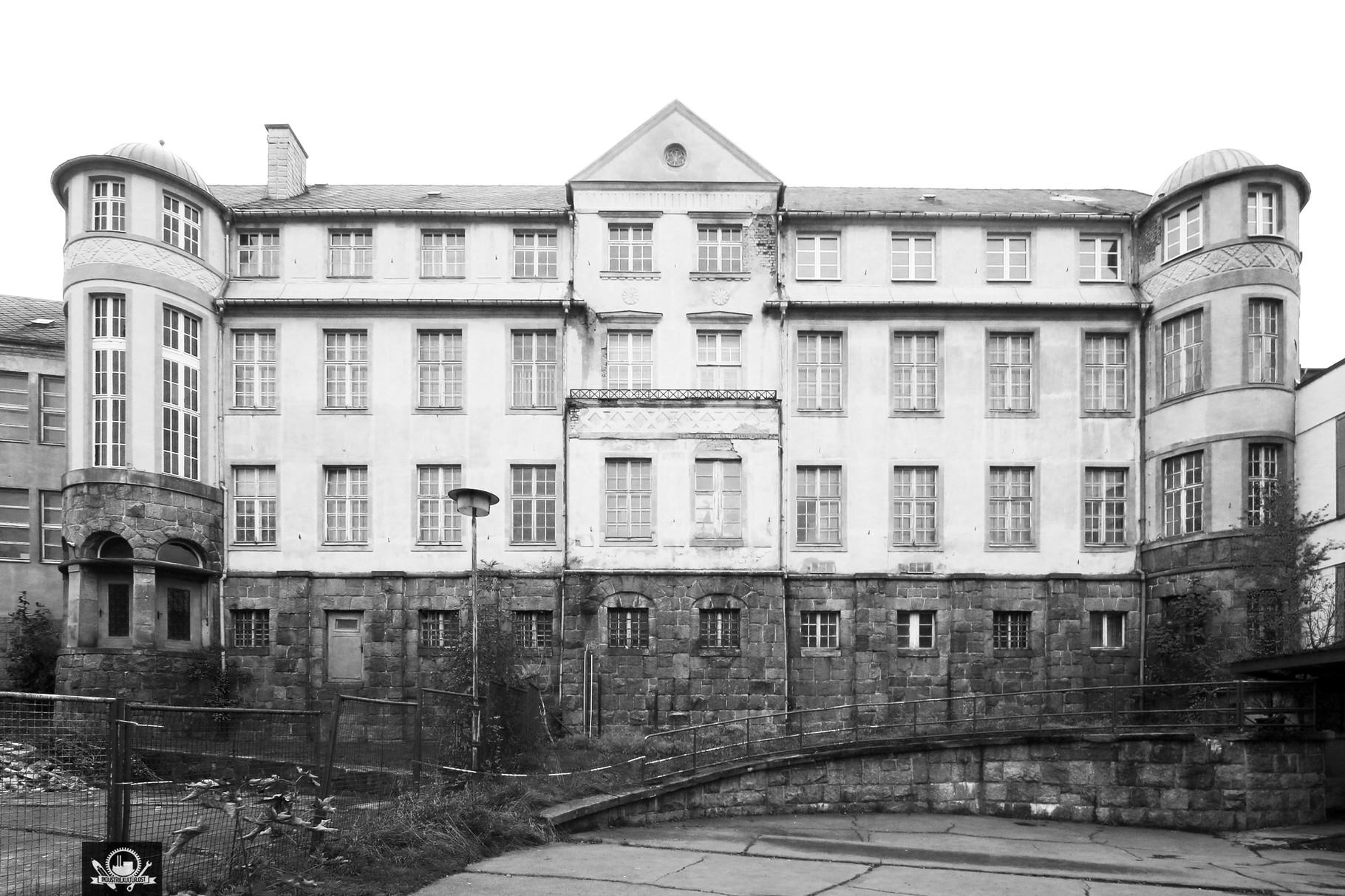 Verwaltungsgebäude der Strumpffabrik A.Wieland