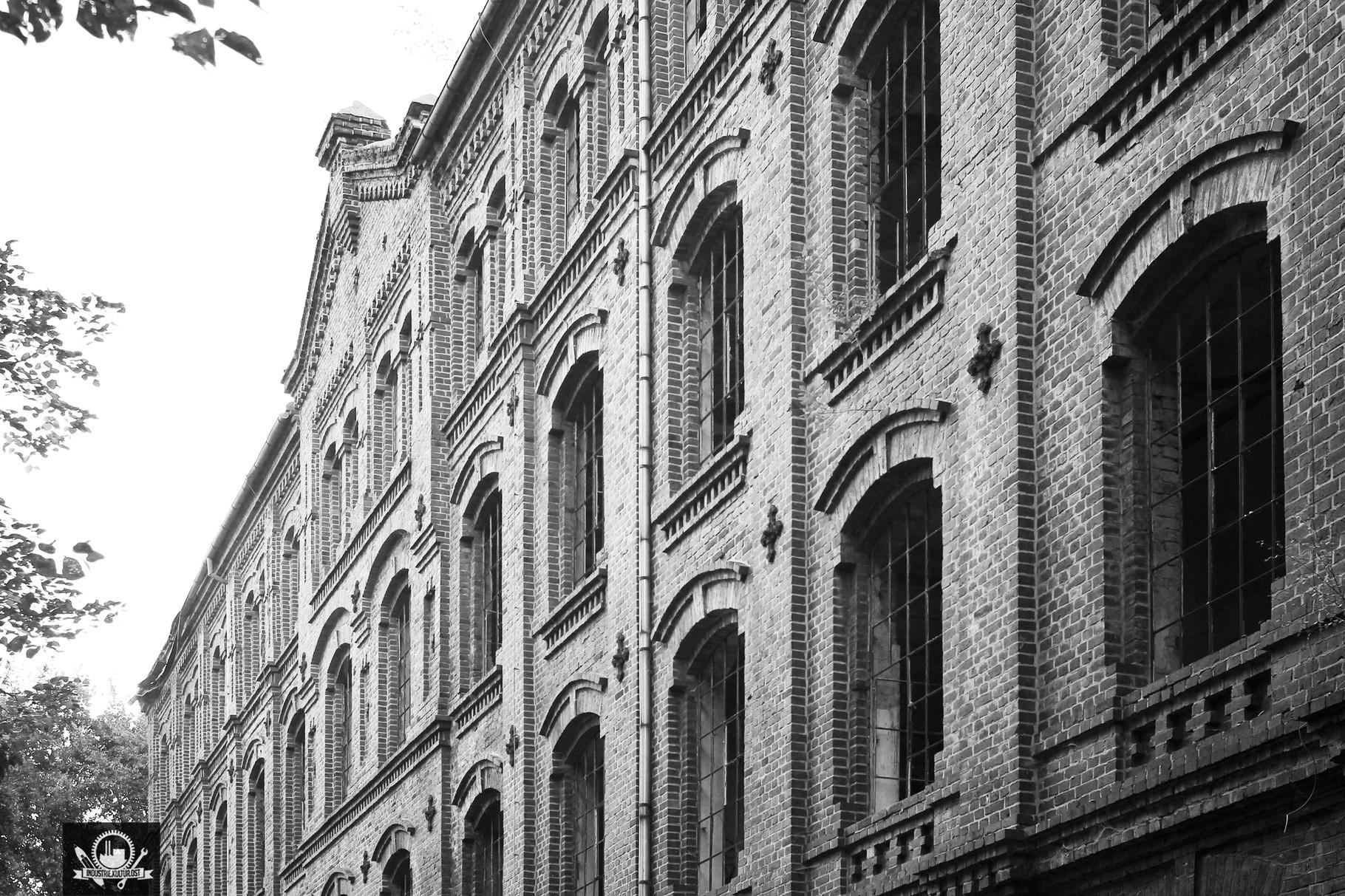 Tuchfabrik Hartmuth Forst / Baujahr ca. 1890
