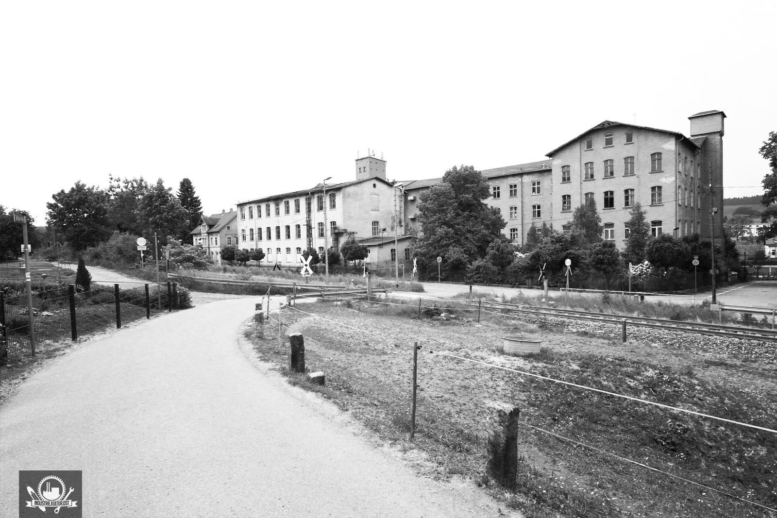 Strumpffabrik Neukirchner Thalheim / Baujahr 1893