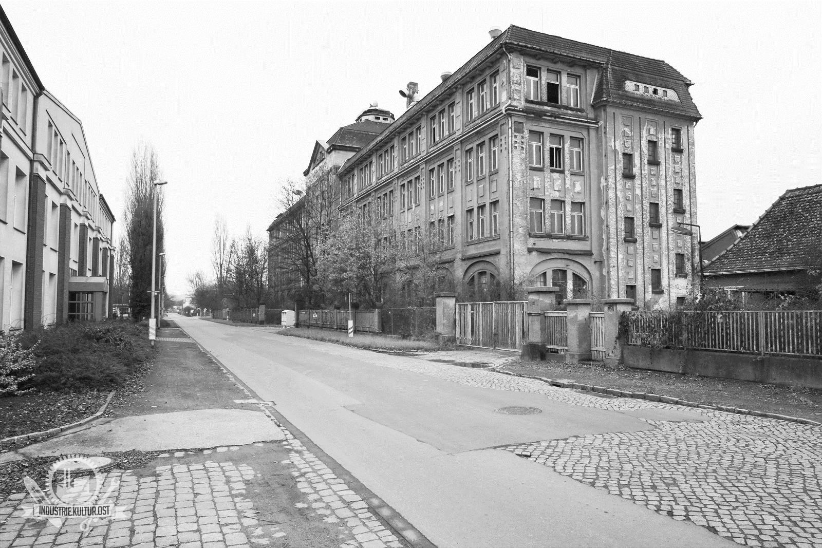 Lederfabrik Bierling Coswig / Baujahr 1906