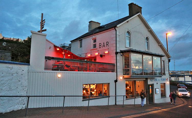 Neptune & Prawn Bar und Restaurant in der Kerr Street.