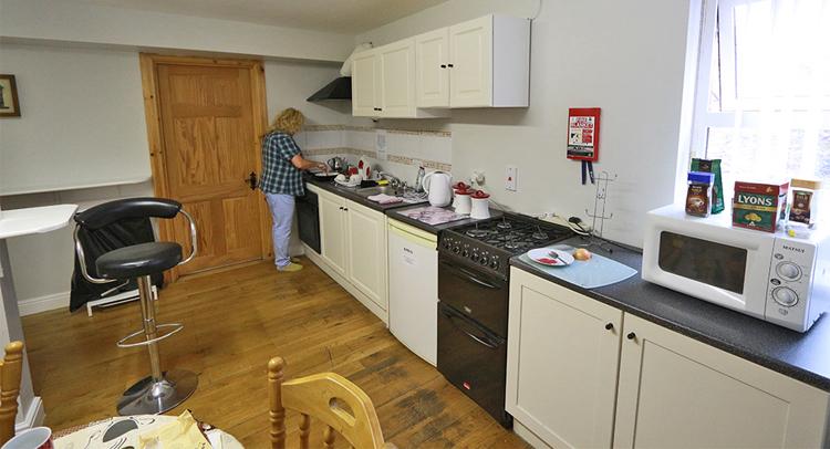 Auch die Slieve League Lodge sauber und ordentlich, während unseres Besuchs.