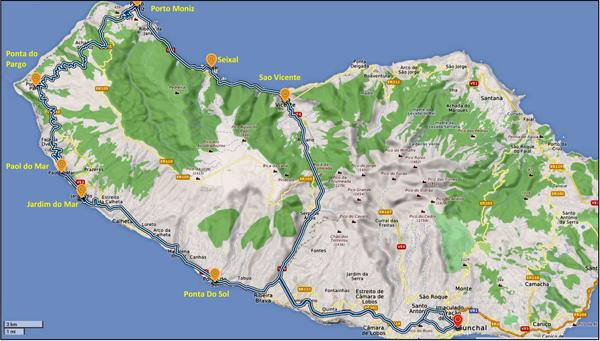 Ausflug in Madeiras Westen