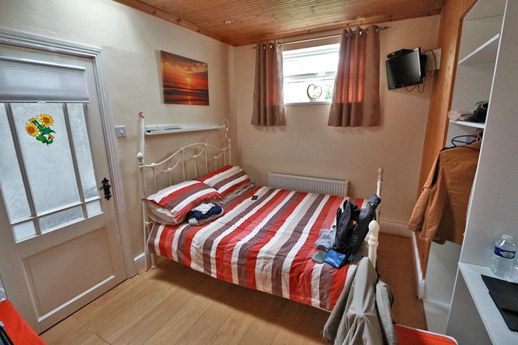 Unser Schlafzimmer, sehr gemütlich und mit Liebe eingerichtet.