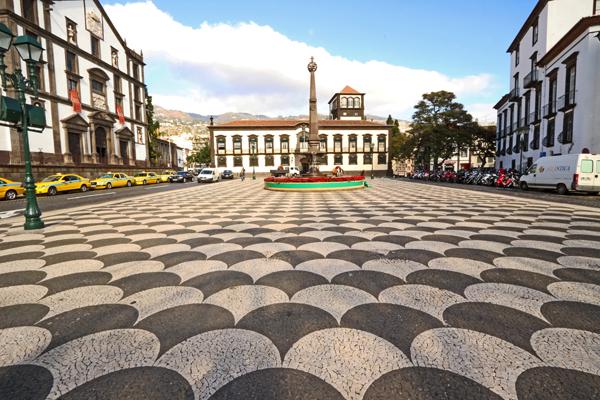 Pflasterzauber in Funchal