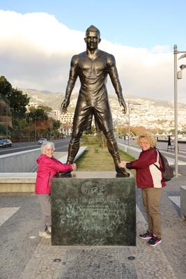 Denkmal Christiano Ronaldo