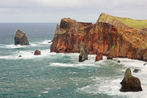 Dikes im Osten Madeiras