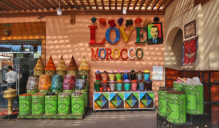Place des Ferblantiers, Marrakesch.