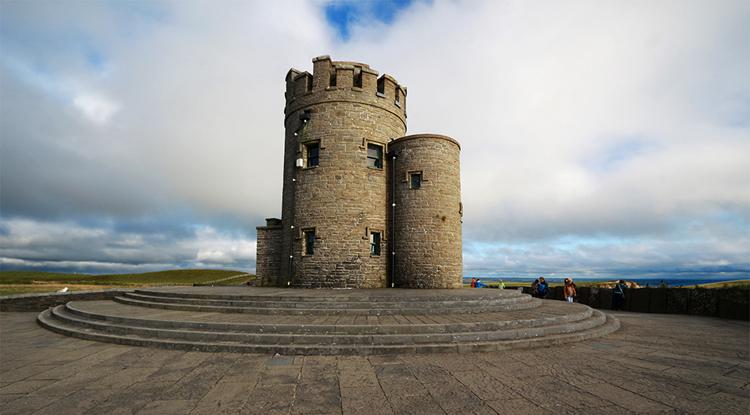 Der O'Brien's Tower. Schade, dass wir nicht hoch konnten. Von dort aus hat man sicher einen tollen Ausblick.