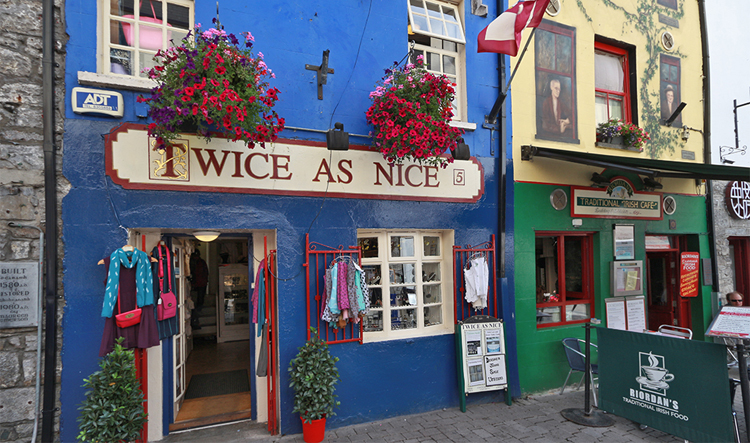 Highstreet in Galway