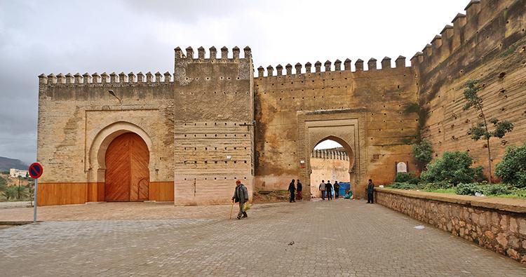 Das Bab Mahrouk, der ideale Zugang um die Medina zu erkunden.