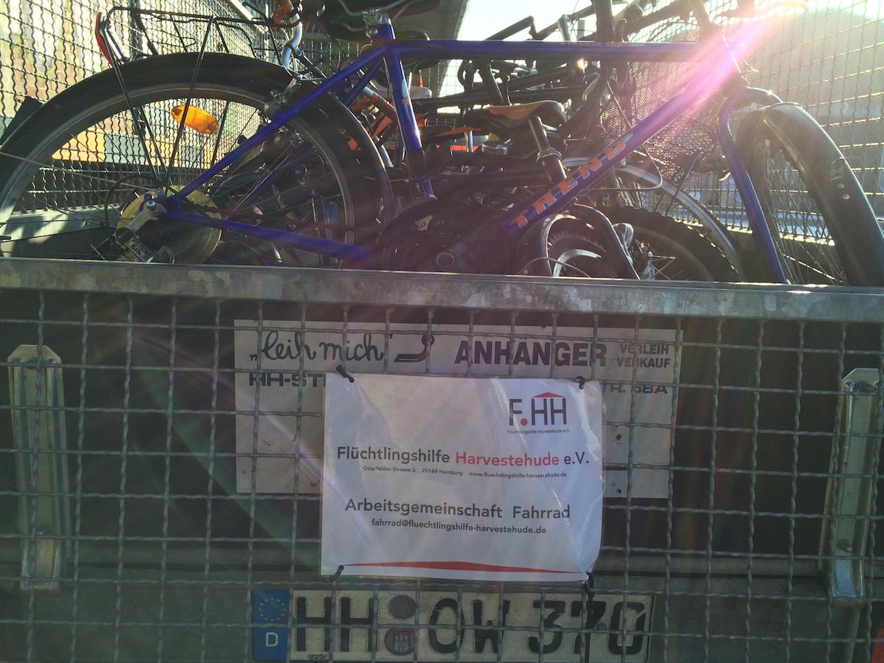 Die Fahrrad AG unterwegs