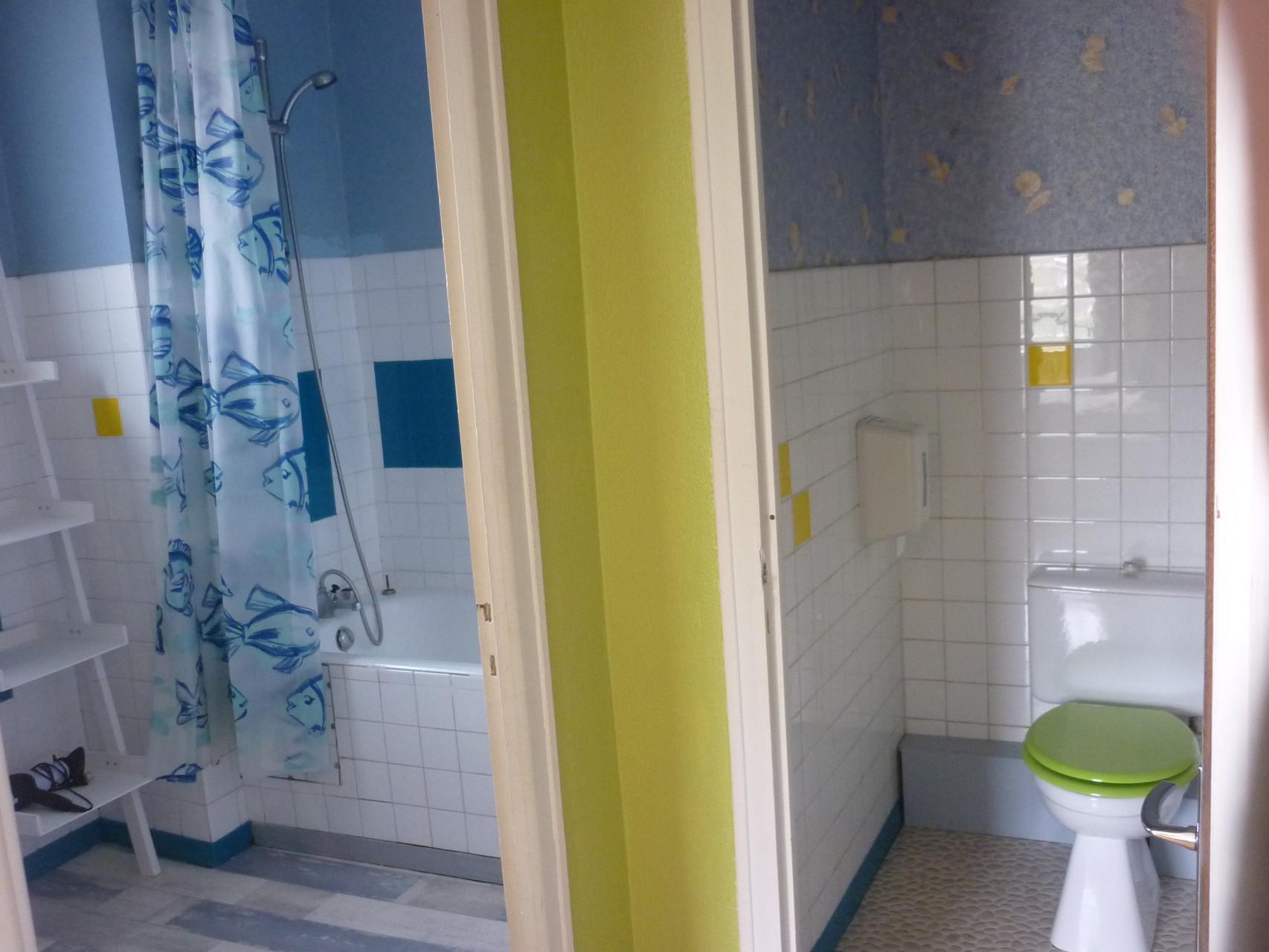 Sanitaire chambre 20 m²