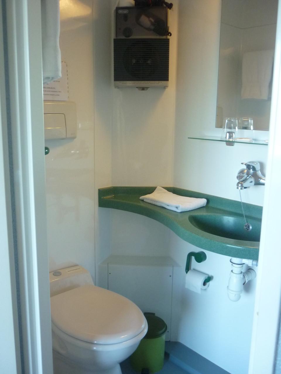 Sanitaire des chambres doubles 12 m²