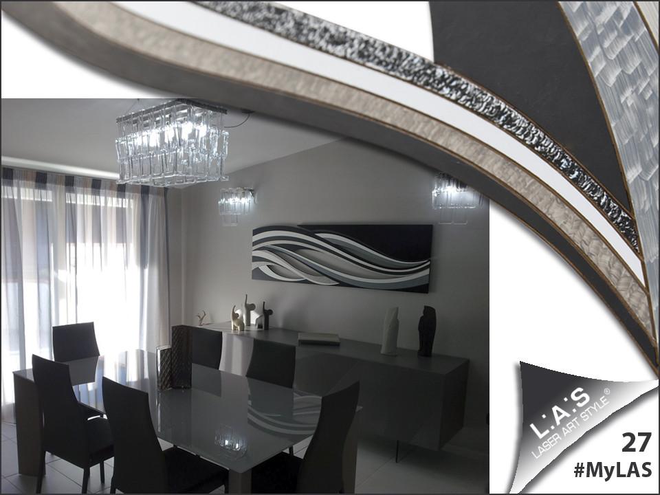 RIGENERARSI <br> Lidia e Santino hanno creato un ambiente elegante e moderno: le forme ben definite, la geometria, gli accostamenti di colori neutrali favoriscono il riposo della mente.