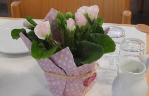 Blumengruß zur Jahresahauptversammlung