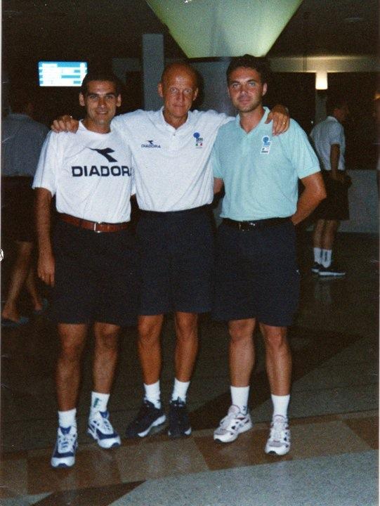 Sportilia Raduno Can/C 1999/2000 Massimo D'Aguanno, Pierluigi Collina e Michele Giordano