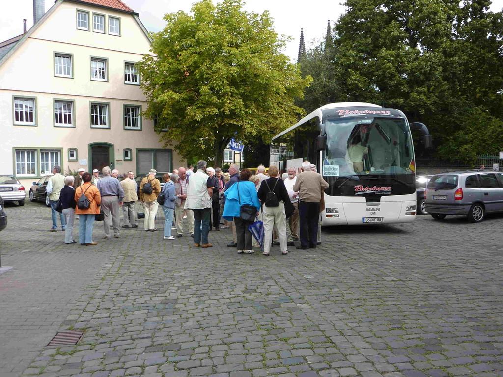 1.Tag - Fahrt v. Goslar nach Soest - Ankunft in Soest