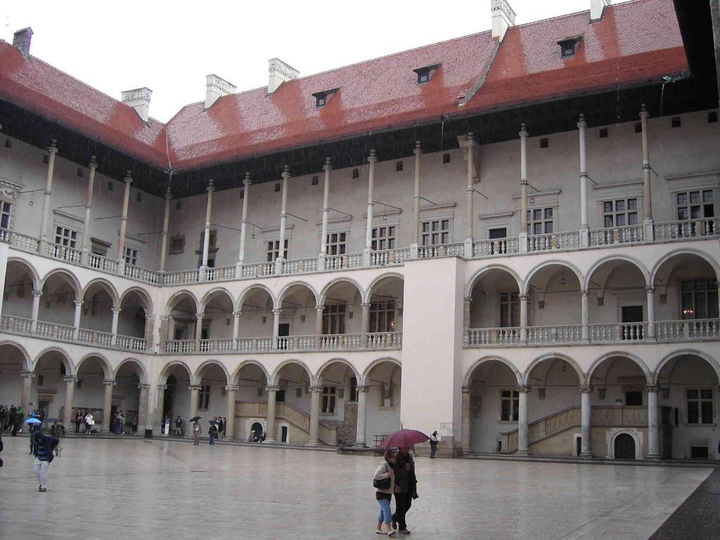 4.9.2007 Stadtführung Krakau - Wawelberg -