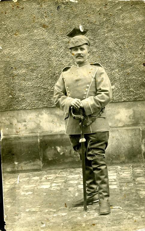 Großvater Fritz - 1914