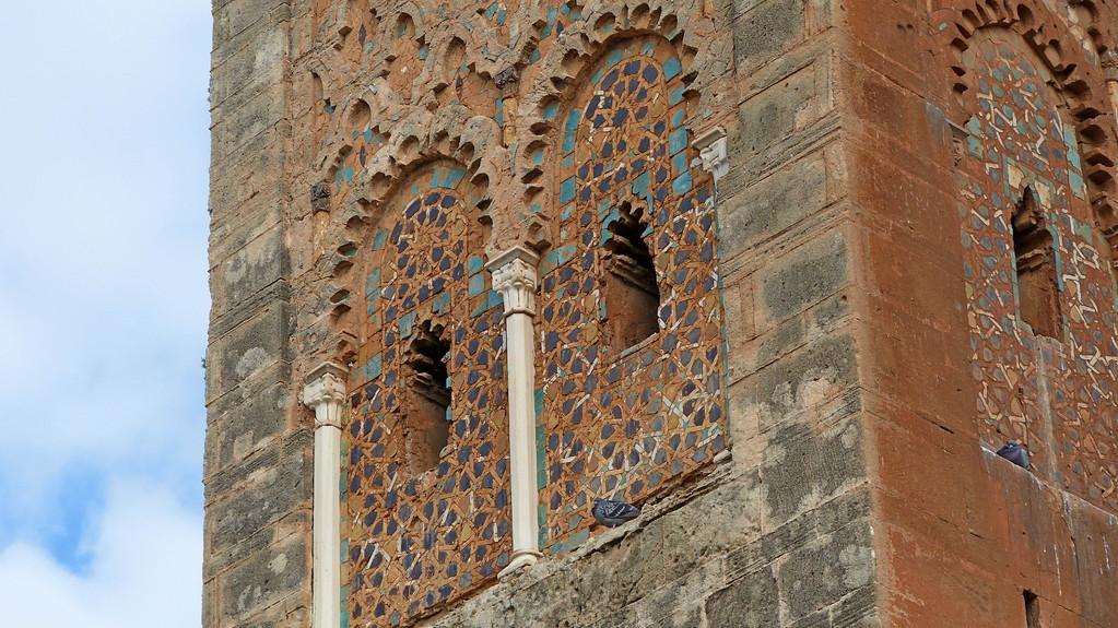 1.Tag - Rabat - Chella Nekropole aus dem 14. Jh.- Grabstätte der Meriniden-Sultane
