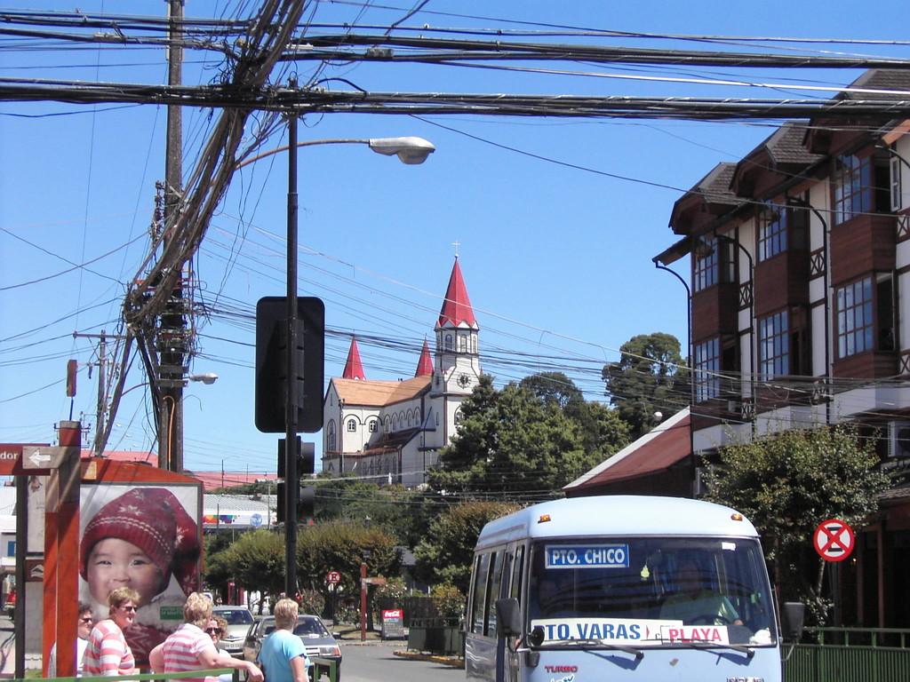 Stop in Puerto Montt - Puerto Varas