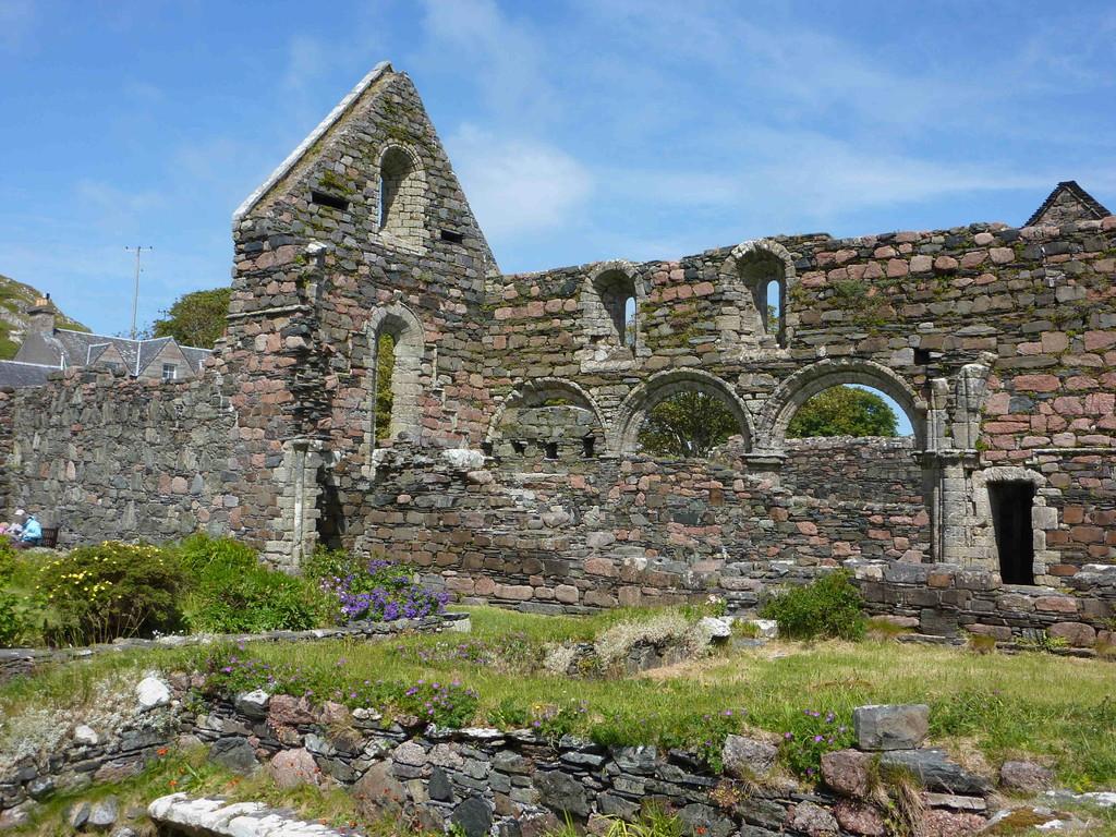 """Nunnery - auf der """"Heiligen Insel"""" Iona"""