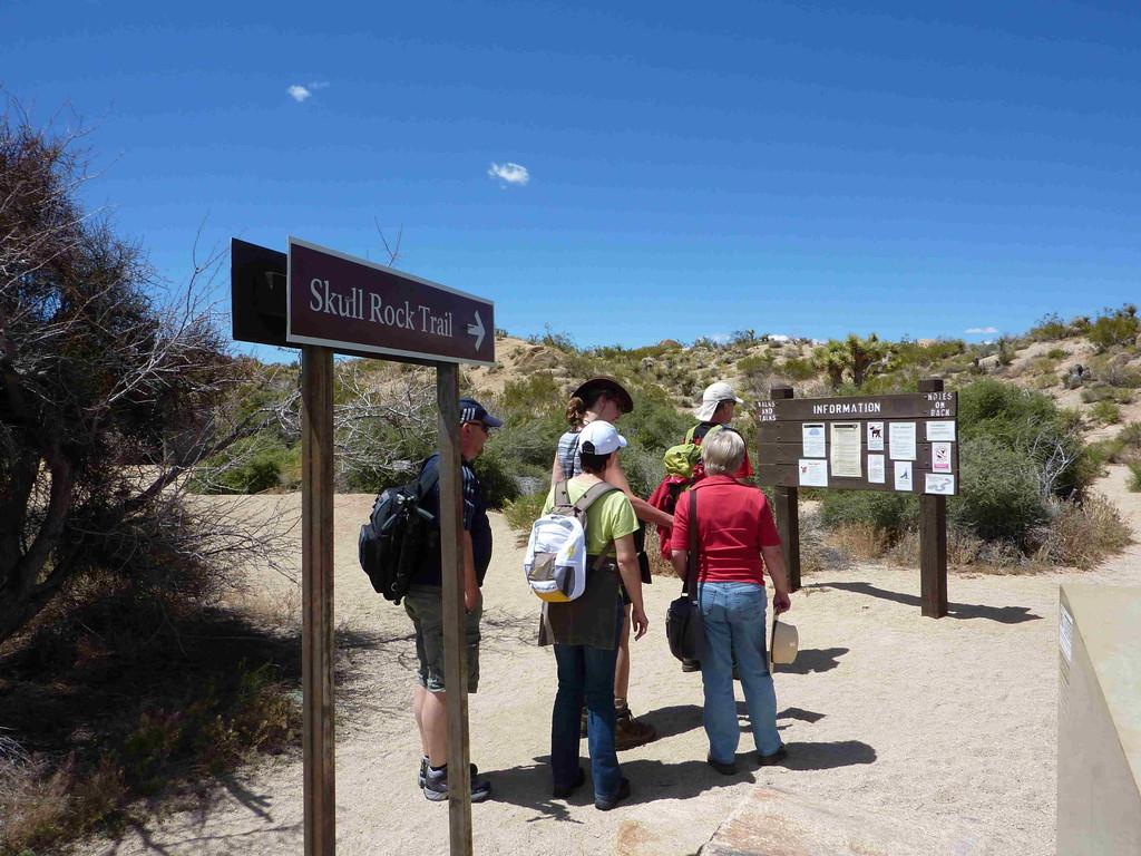 Joshua Tree Nationalpark - Wanderung