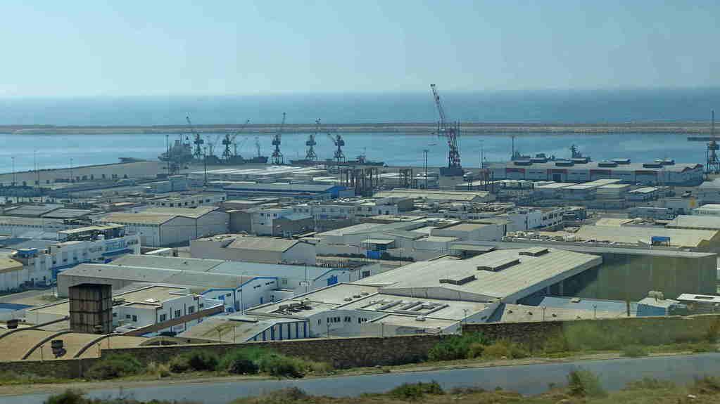 11.Tag - Fahrt von Essaouira nach Agadir - Agadir Industriehafen