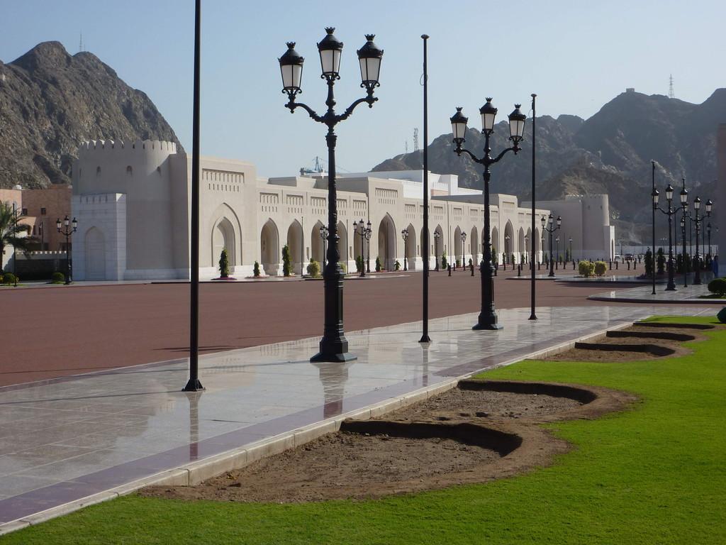 7. Tag - Muscut / Al Alam Palst (Residenz des Sultans)