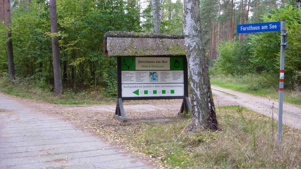 Weg zum Forsthaus am See (Breiter Luzin)