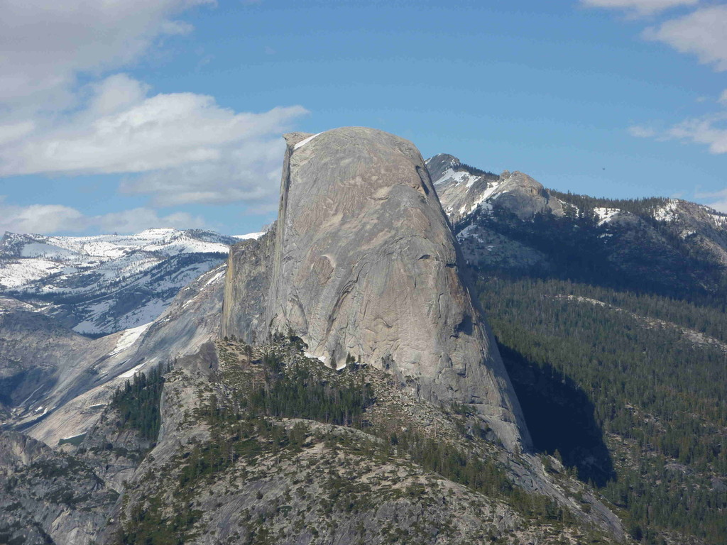 Yosemite Nationalpark, Half Dome - vom Glacier Point