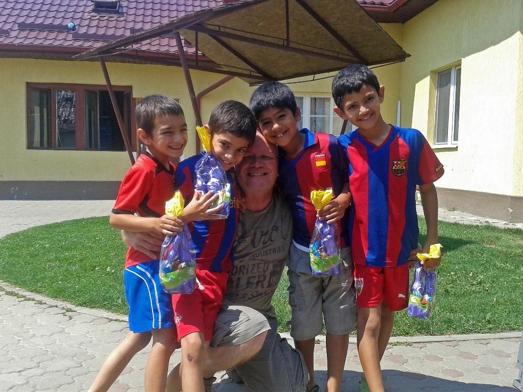 07.07.2015 Kinderheim Ocna Mures bei Sibiu