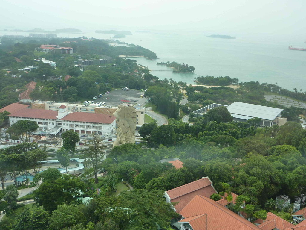Singapur - Insel Sentosa, Tiger Sky Tower