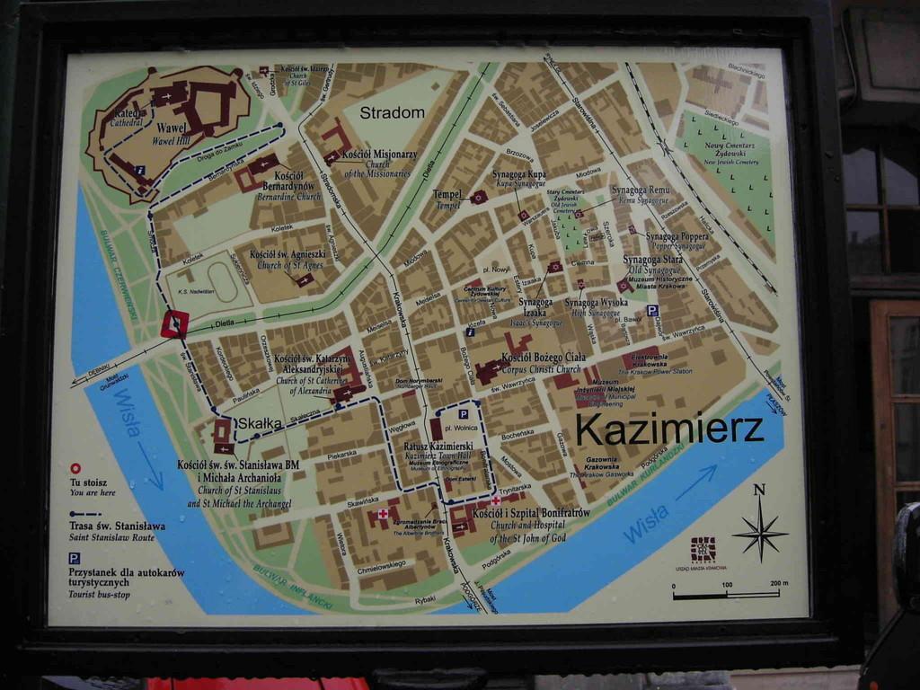 4.9.2007 Stadtführung Krakau