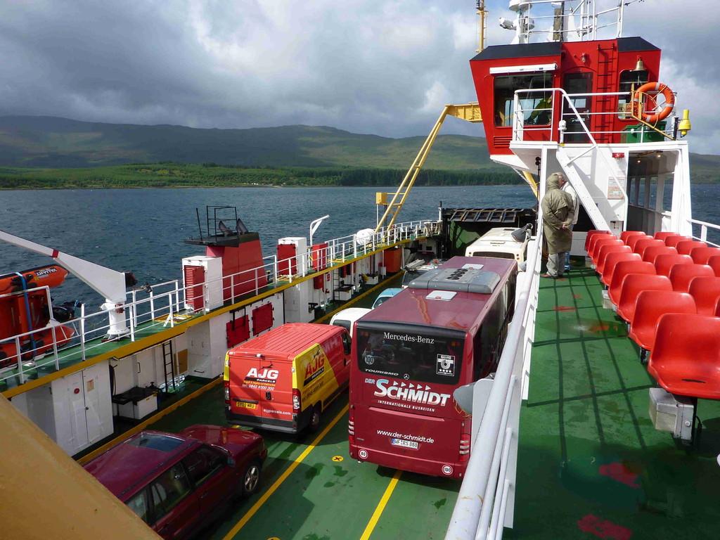 Auf der Fähre zur Isle of Mull