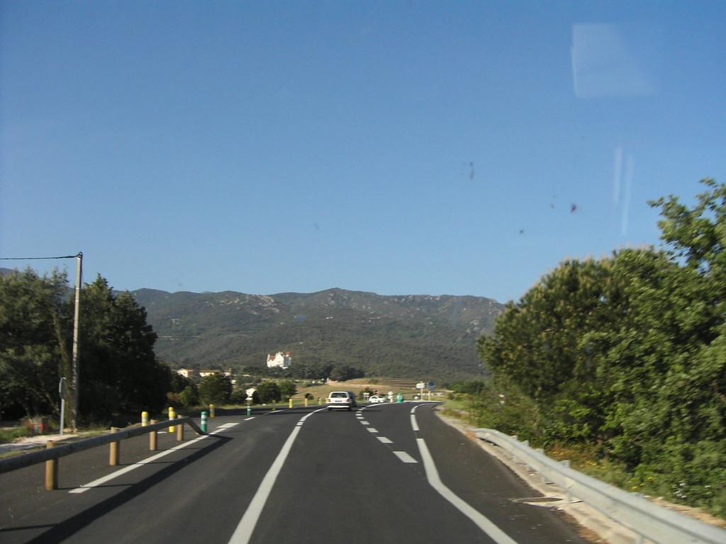Auf der Fahrt nach Spanien