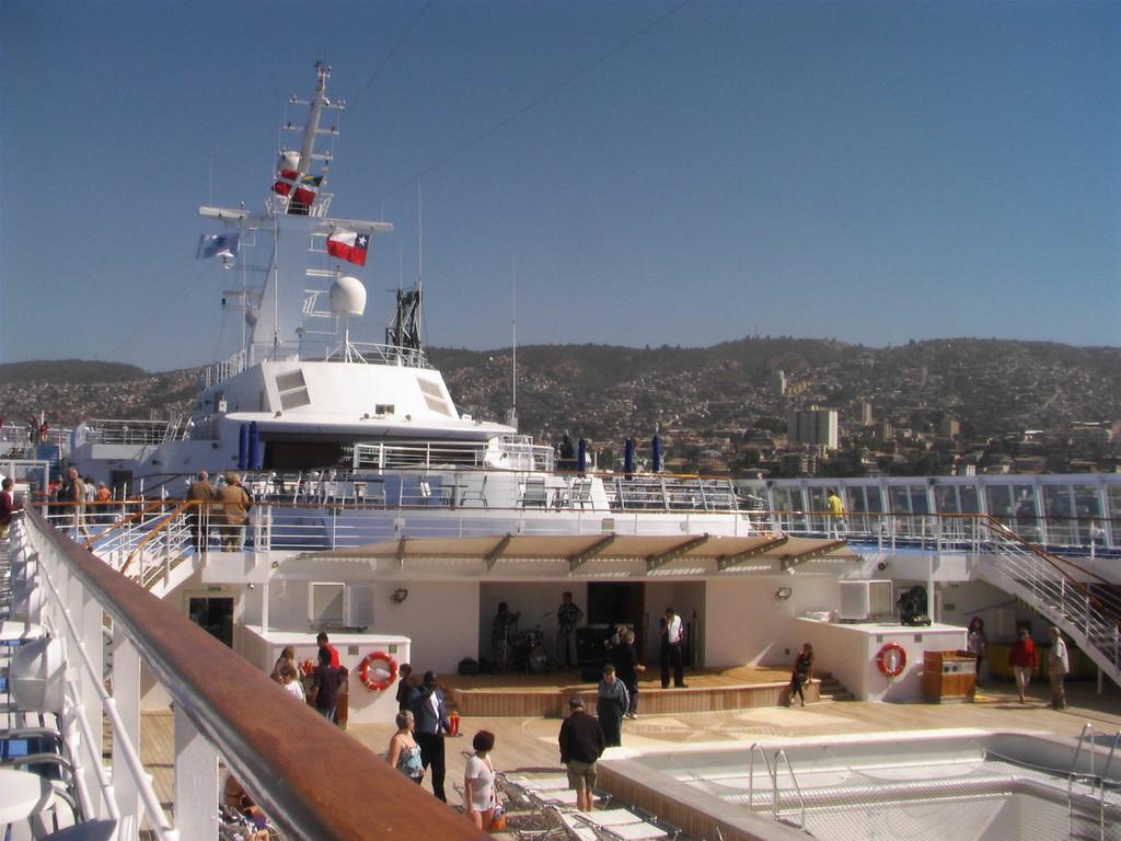 """Valparaiso - an Bord der """"Norwegian Sun"""""""