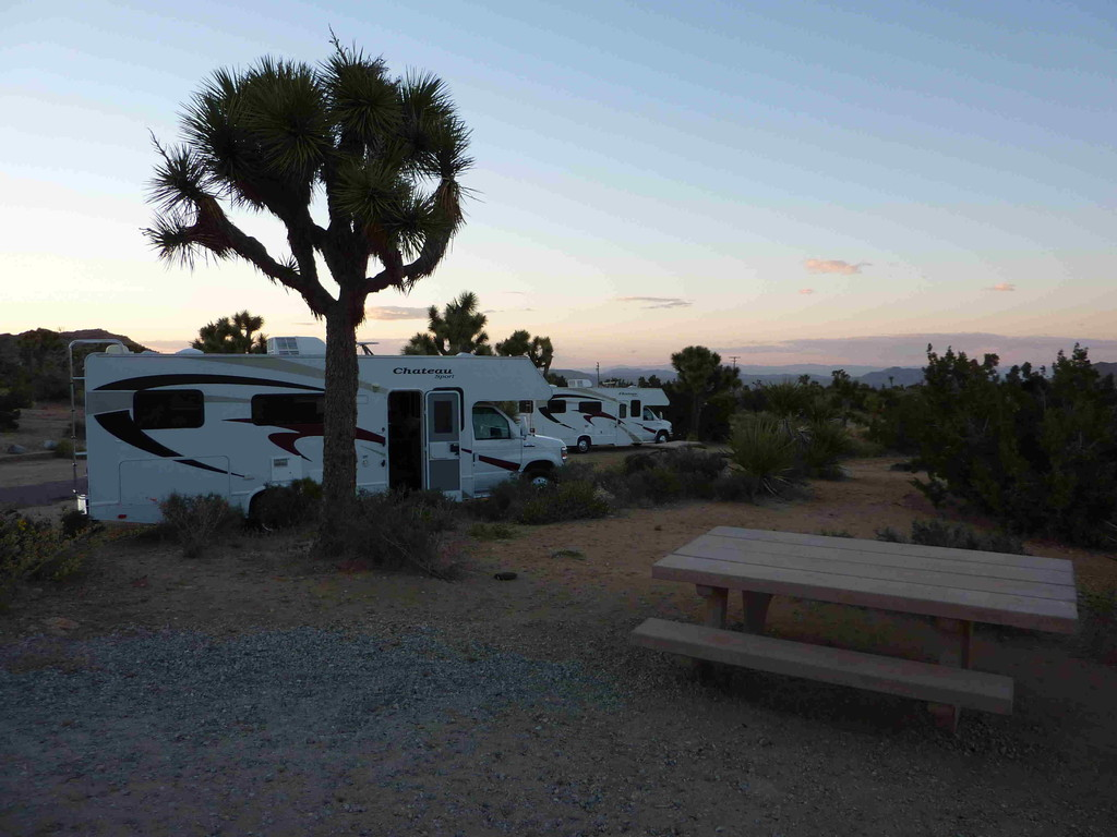 Yucca Valley - Campground Black Rock