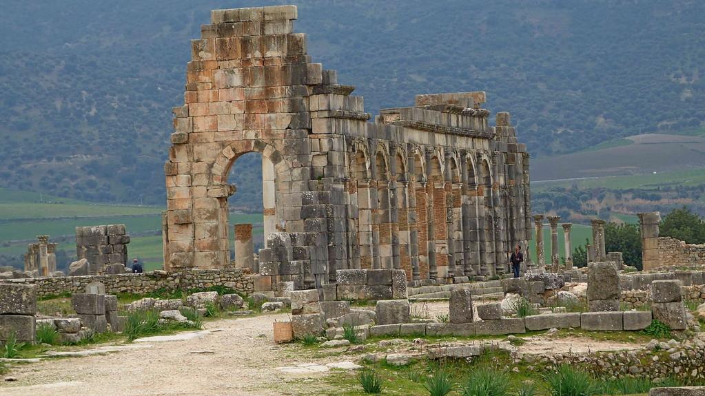 3.Tag Volubilis - Basilika